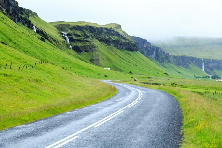 Ring road. Iceland.