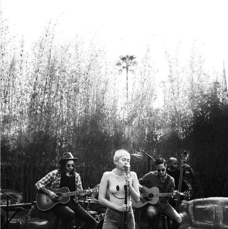 Miley Cyrus Backyard Sessions Collective Hub Collective Hub