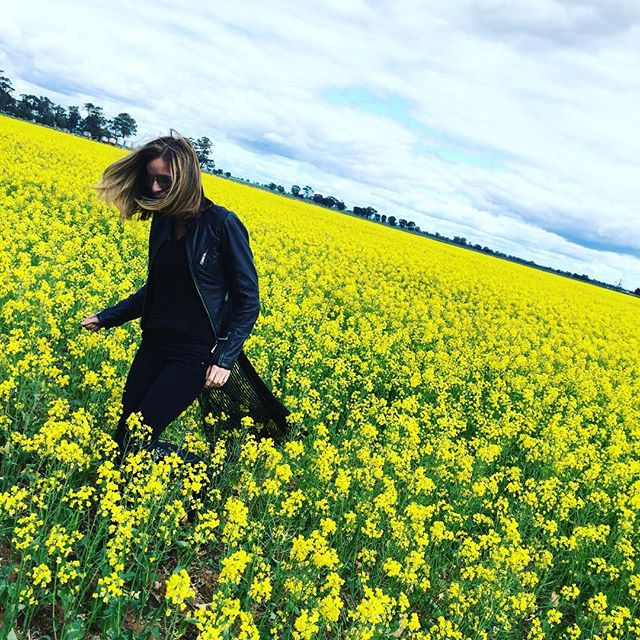 Lisa Messenger flower field