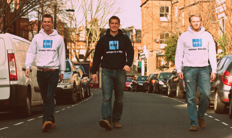 Co founders - Rob Symington (left) Dom Jackman (Middle) Mike Howe (right)