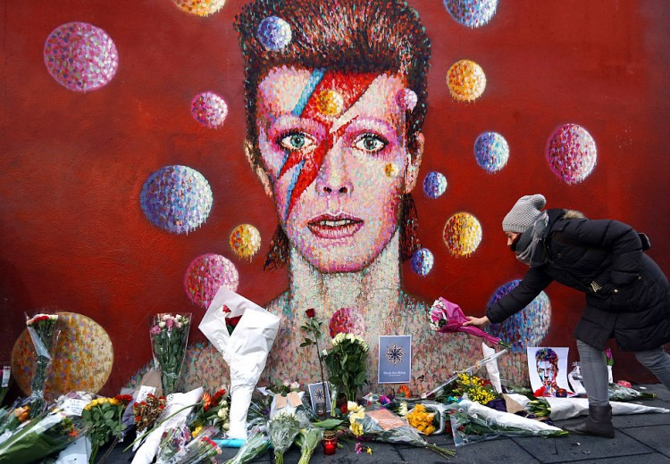 Tributes Are Made After The Death Of Music Icon David Bowie