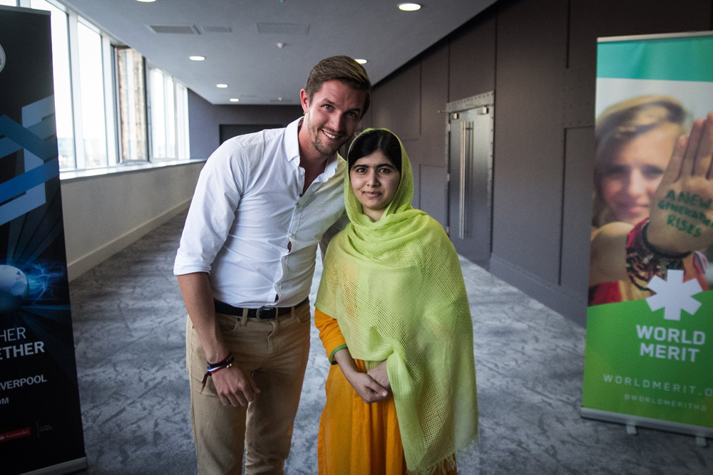 The Backpacker Intern + Malala in Liverpool
