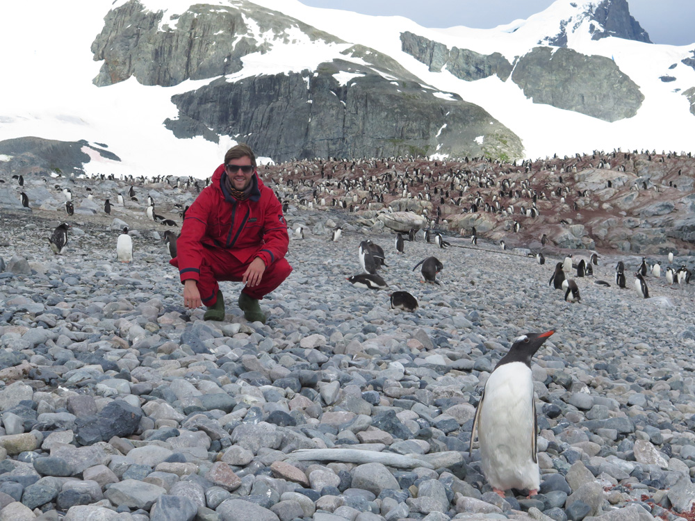 The Backpacker Intern at Antarctica