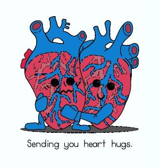 Hope Street Cards - Heart Hugs