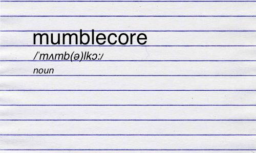 Mumblecore