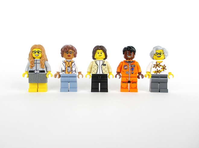 nasa women lego