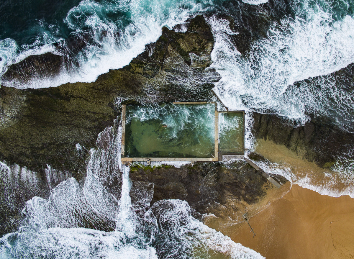 natural australia beauty drone captured photographers above todd kennedy hub