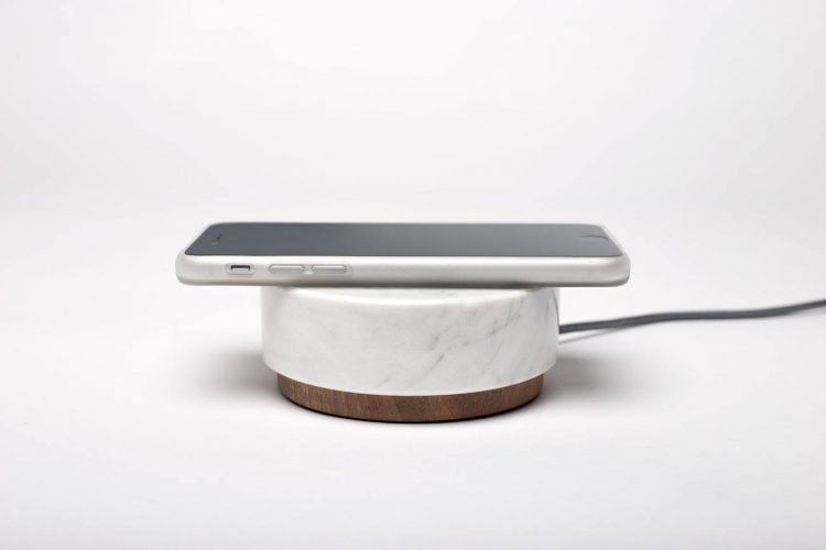 pebble wireless charger