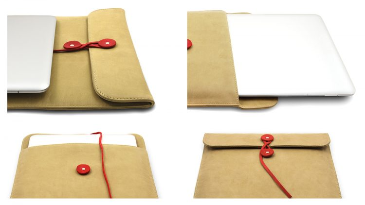 shuky leather laptop case