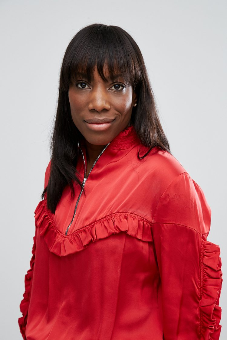 ASOS fashion director Vanessa Spence