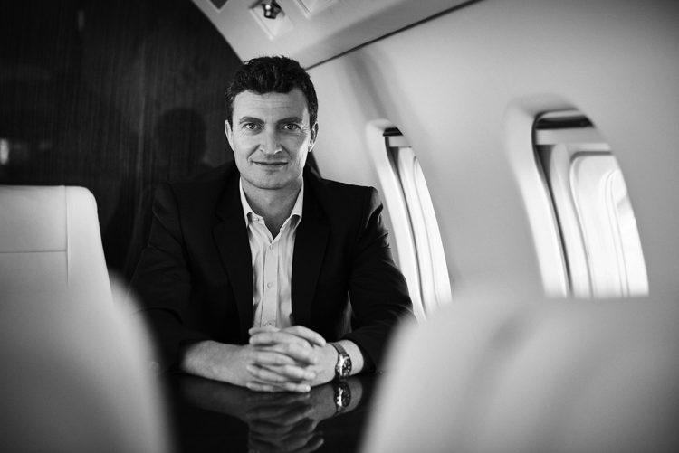 Jonny Nicol, founder and CEO of Stratajet