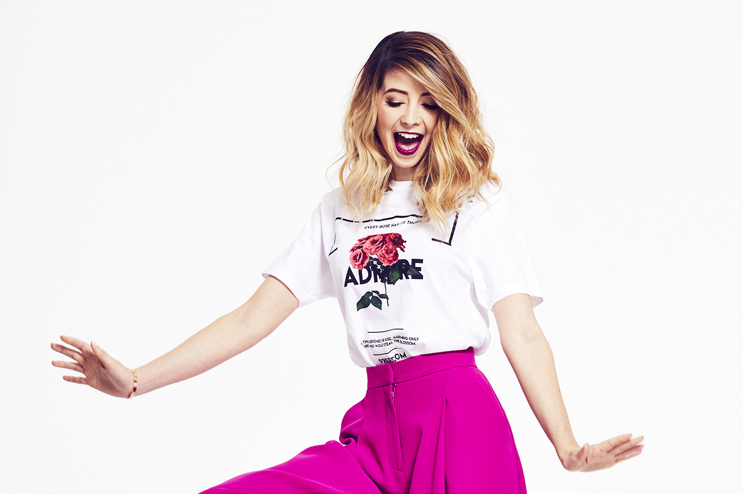Zoella Line Drawing : Steps to building your following with youtube star zoe